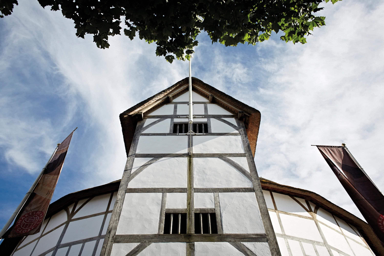 Shakespeare's Globe Theatre. Image courtesy of John Wildgoose