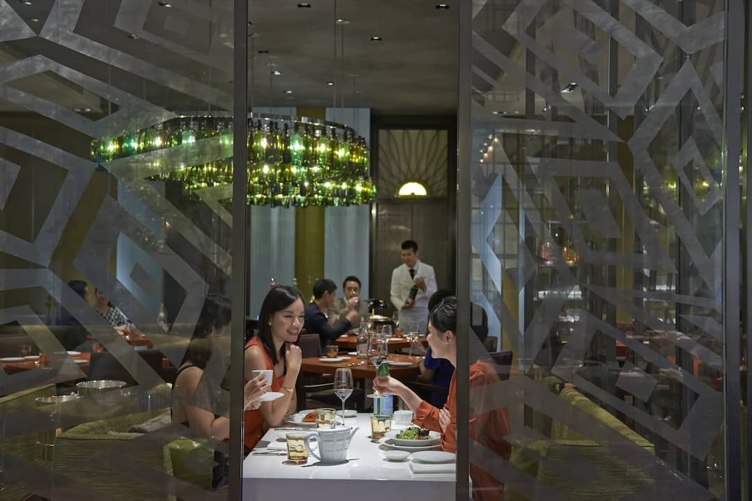 Bencotto Restaurants In Songshan Mandarin Oriental Taipei