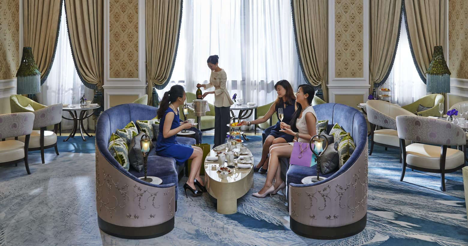 afternoon tea at the jade lounge