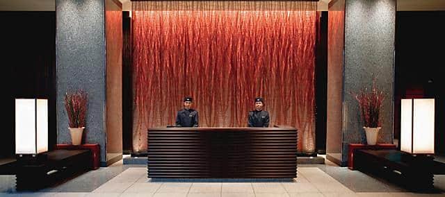 tokyo hotel lobby