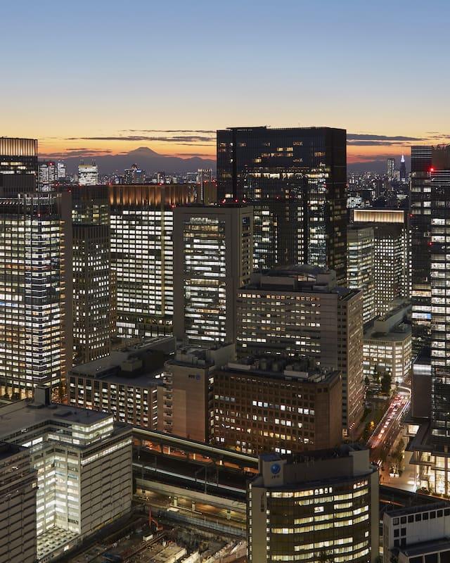 Luxury 5 Star Hotel Nihonbashi Mandarin Oriental Tokyo