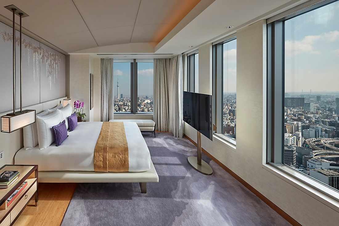 Luxury Accommodations In Nihonbashi Mandarin Oriental Tokyo