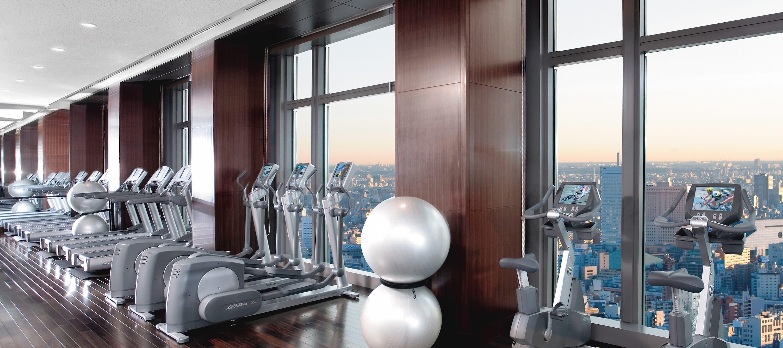 Luxury fitness wellness nihonbashi mandarin oriental