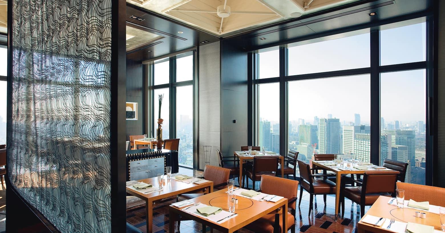 K'shiki dining area