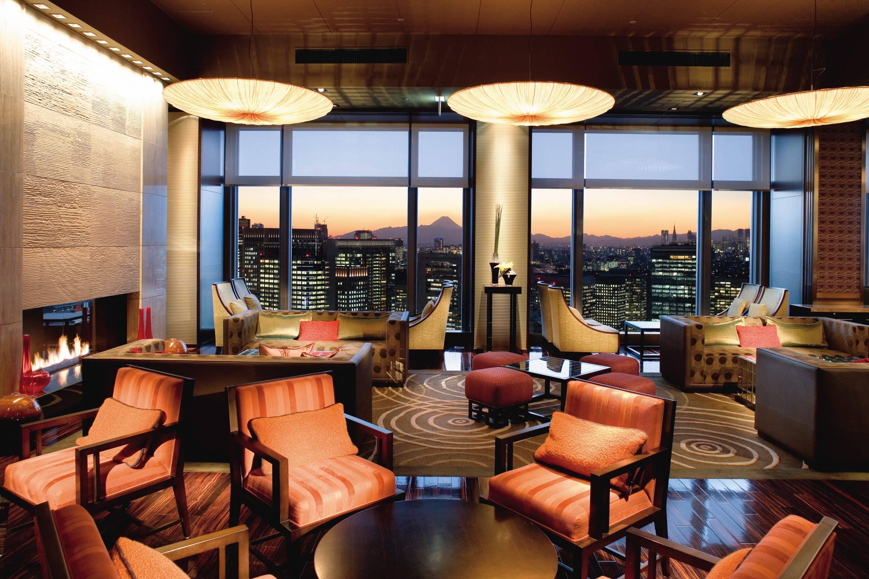 Oriental Lounge Mandarin Oriental Hotel Tokyo