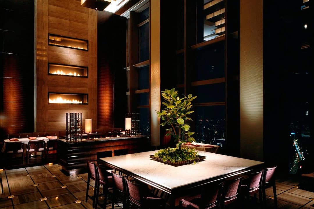 Sense Tea Corner Mandarin Oriental Hotel Tokyo