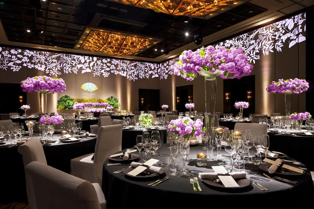 Luxury Wedding Reception Venue Nihonbashi Hotel Mandarin
