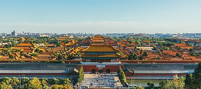 forbidden city view