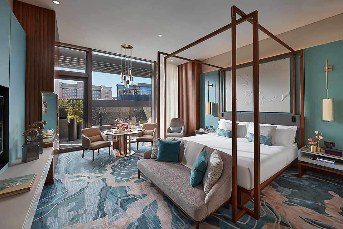 Luxury Accommodations In Mandarin Oriental Wangfujing Beijing