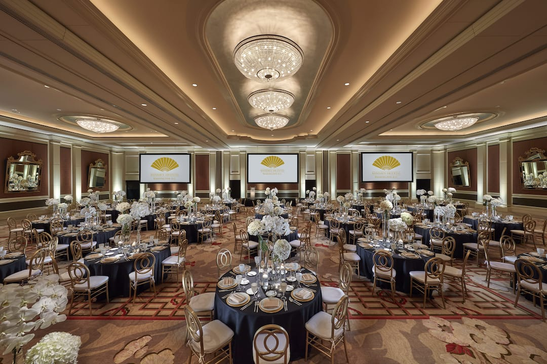 ballroom at mandarin oriental, washington dc