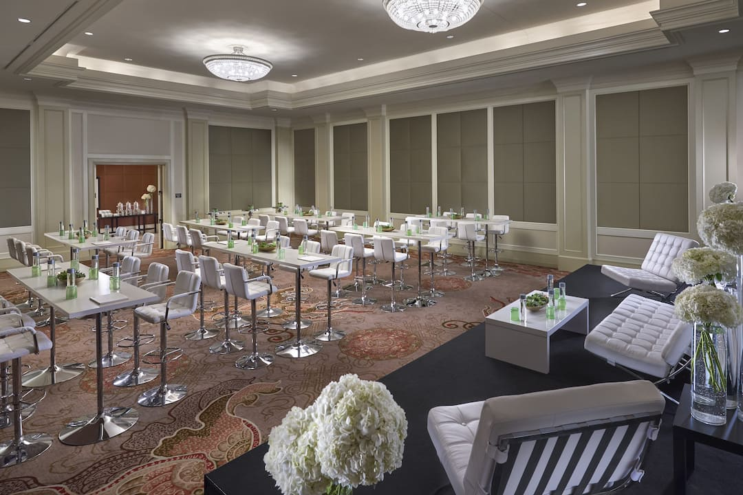meeting room at mandarin oriental, washington dc