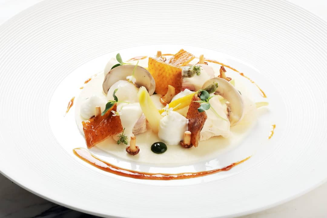 seafood created by catering at mandarin oriental, washington dc