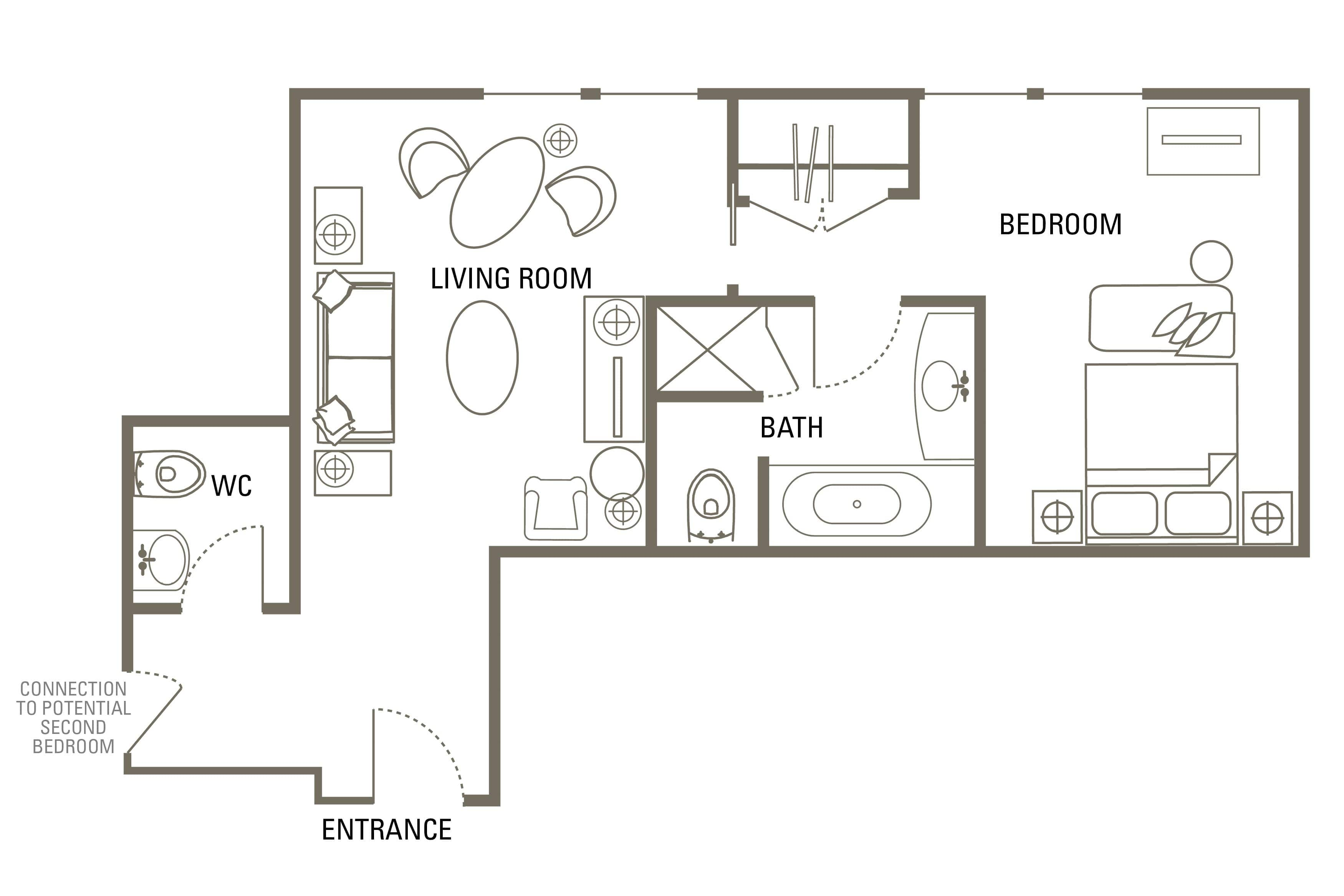Executive 2 Bedroom Family Suite