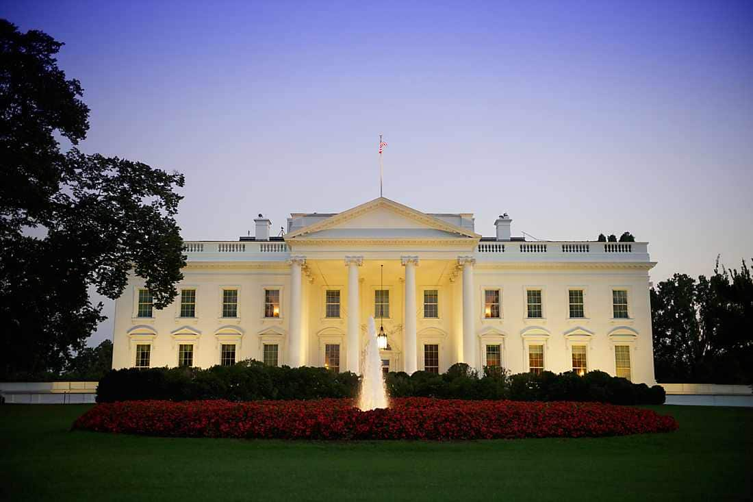 view of white house